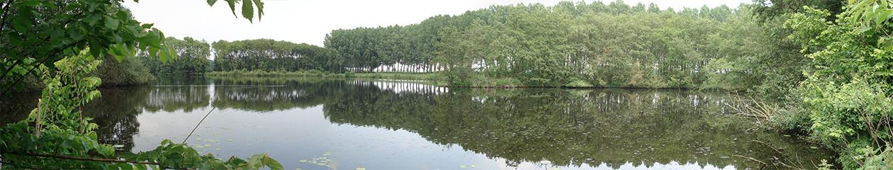 Panorama van de Zandwiel